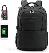 Tigernu Allround - laptop rugzak - anti diefstal usb - 12,5 tot 15,6 inch - zwart