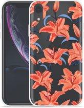 Apple iPhone Xr Hoesje Flowers