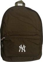 Schooltas rugzak • New York Yankees • Donkergroen/bruin