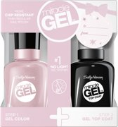Sally Hansen Miracle Gel + Top Coat DUOPACK - 511 Plush Blush