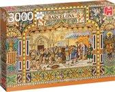 Tegels uit Barcelona puzzel