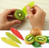 Kiwi mes Geel   Lepel - Prikker