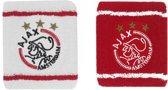 Ajax polsbandjes wit/rood