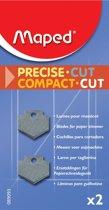 Rechte messen voor trimmers M089300, M089301, M089400 x 2