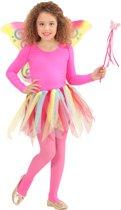 Regenboog prinses fee kostuum voor kinderen - Verkleedattribuut