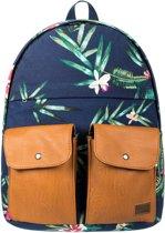 Roxy Backpack - Unisex - donker blauw/ bruin
