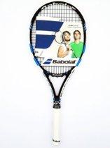 Babolat - Tennisracket - 102238 - PURE DRIVE TEAM STRUNG - Volwassen - L4 - Zwart thumbnail
