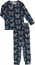 Pyjama Set LS BUTTERFLY 110/116