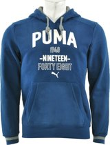 Puma - Style ATHL. Hooded Sweat FL - Heren - maat XL