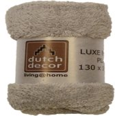 Dutch Decor - Quilt - Polyester - 130 x 180 cm - Grijs
