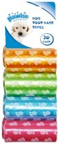 Poop Bags - refill - 8pack - 20pcs/roll