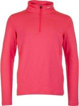 Icepeak Robin Thermo Shirt 1/2 Zip baselayer  Sportshirt performance - Maat 176  - Unisex - roze