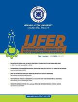 Istanbul Aydin University Engineering Faculty International Journal of Food Engineering Research