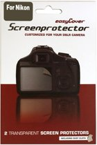 easyCover LCD folie voor de Nikon D7000