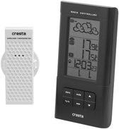 Cresta BAR300 digitaal Weerstation met barometer - Zwart