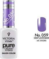 VICTORIA VYNN™ Gel Nagellak - Gel Polish - Pure Creamy Hybrid  - 8 ml - Lavender  - 059
