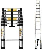 MASTER Telescopische ladder 3.80m - 1x13 sporten