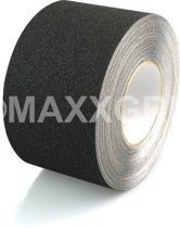 Antislip tape 100 mm breed (ZWART) - 100mm x 4,5 mtr zwart
