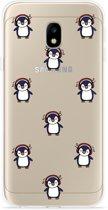 Samsung Galaxy J3 (2017) Hoesje Chillin like a penguin