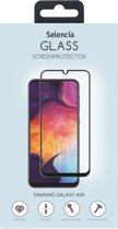 Selencia Gehard Glas Premium Screenprotector voor de Samsung Galaxy A50 - Zwart
