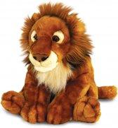 Pluche Afrikaanse leeuw knuffel 50 cm