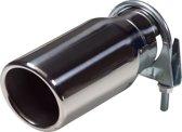 AutoStyle Uitlaatsierstuk RVS - rond 76mm - lengte 178mm - 40-58mm aansluiting