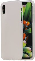 Wicked Narwal | TPU Hoesje voor iPhone X Wit