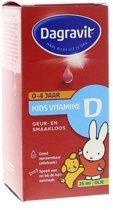 Dagravit Kids Vitamine D 0 - 4 jaar -  Druppels Op Basis van Olie  - 25 ml