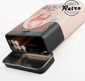 Retro Metalen Sigarettendoosje