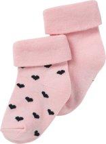 Noppies Meisjes Sokken - Roze - 0-3 maanden