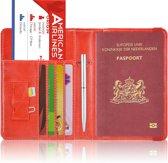 Paspoorthoesje / Paspoorthouder - V2 - Rood