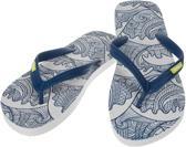 Sinner Obi Heren Slippers - Blauw/Wit - 43