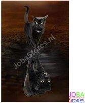 "Diamond Painting ""JobaStores®"" Kitten-Panter - volledig - 30x40cm"