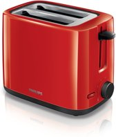 Philips Daily Collection Toaster - rood