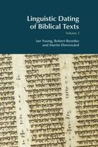 Linguistic Dating of Biblical Texts: Volume 2