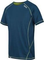 Regatta-Virda II-Outdoorshirt-Mannen-MAAT XXL-Blauw