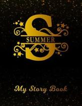 Summer My Story Book