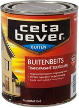 Cetabever Transparante Buitenbeits - 0,75 liter - Mahonie