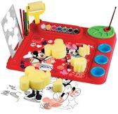Mickey Mouse Kunstenaarsset met Sponsjes