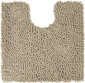 Differnz Chenille Shaggy - Wc mat - 60x60 - Taupe