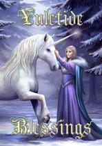 Anne Stokes Kerstkaart Pure Magic