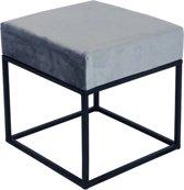 Kick Bijzettafel Cube - Grijs 40x40