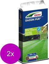 Dcm Gazon Pur 250 m2 - Gazonmeststoffen - 2 x 20 kg (Mg)