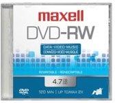 Maxell DVD-RW 5 Pack 4,7 GB 5 stuk(s)