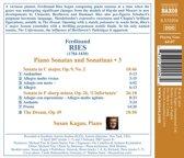 Ries: Piano Sonatas 3