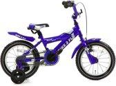 Popal Bike 2 Fly 14K Kinderfiets - Jongens -14 Inch - Blauw