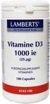 Vitamine D3 1000IE 25 mcg Vitamine