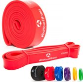 #DoYourFitness Weerstandsband - 2080 x 32 x 4,5 mm - rood