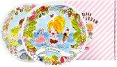 Blond Amsterdam Spring & Summer set 2 ontbijtborden - Ø 22 cm