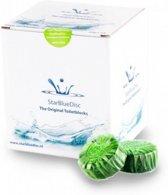 Starbluedisc Jaar verpakking Toiletblokjes Appel Groen 24 stuks